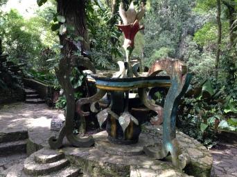 Esculturas las pozas