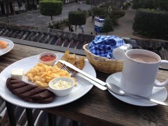 Desayuno Chapin