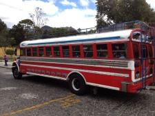 Autobus Antigua Guatemala